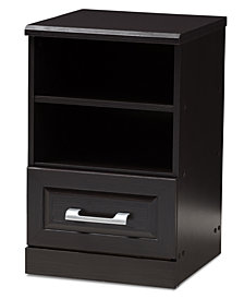 Odelia 1-Drawer Nightstand, Quick Ship