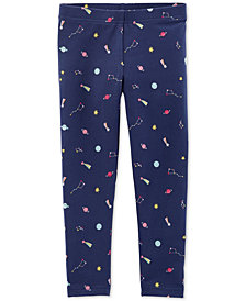 Carter's Toddler Girls Space-Print Leggings