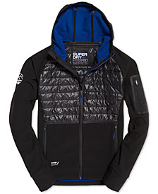 Superdry Men's Mountain Softshell Hybrid Jacket