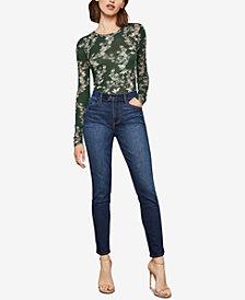 BCBGMAXAZRIA Vent-Hem Skinny Jeans
