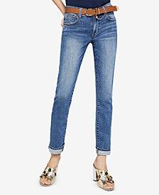 BCBGeneration Straight-Leg Boyfriend Jeans
