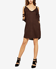 BCBGeneration Cold-Shoulder Shirtdress