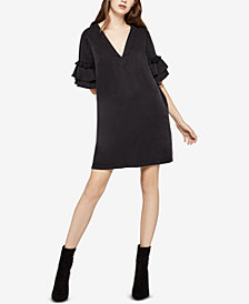 BCBGeneration Tiered Tassel Dress