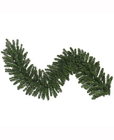 "9' x 14"" Oregon Fir Artificial Christmas Garland Unlit"