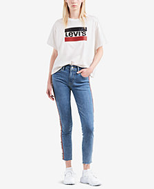 Levi's® Limited Sequin-Embellished Graphic T-Shirt, Created for Macy's