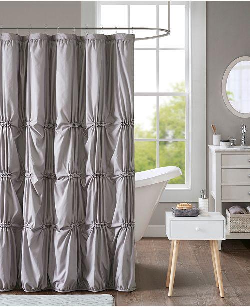 Intelligent Design Benny 72 X Printed Shower Curtain