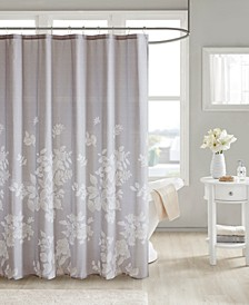 "Marian 72"" x 72"" 100% Cotton Printed Shower Curtain"