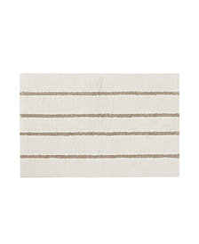 "Madison Park Adrien 21"" x 34"" Cotton Tufted Stripe Rug"