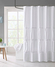 "Mi Zone Mirimar 72"" x 72"" Microfiber Shower Curtain"