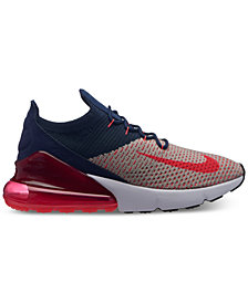 Nike Women's Air Max 270 Flyknit Casual Sneakers from Finish Line