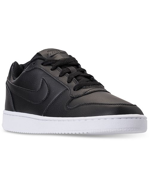 best website 9edce 5cd29 ... Nike Women s Ebernon Low Casual Sneakers from Finish ...