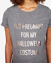 0b57e01fa2c80 A Pea In The Pod Too Pregnant For My Halloween Costume™ Maternity Tee