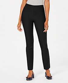 Charter Club Petite Chelsea Pull-On Pants, Created for Macy's