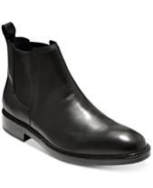 99fe1e912436 Cole Haan Men s Kennedy Grand Waterproof Chelsea Boots
