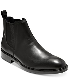 24bf68e5279853 Cole Haan Men s Kennedy Grand Waterproof Chelsea Boots