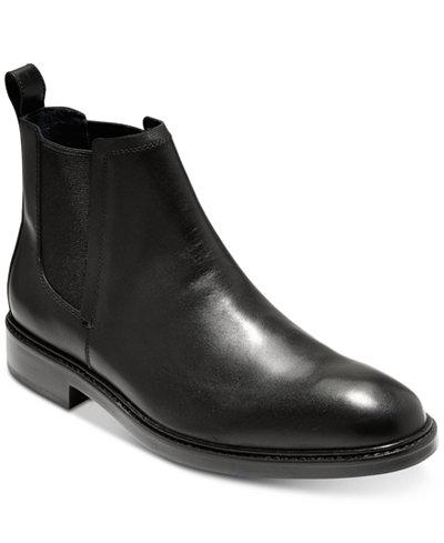 Cole Haan Men's Kennedy Grand Waterproof Chelsea Boots