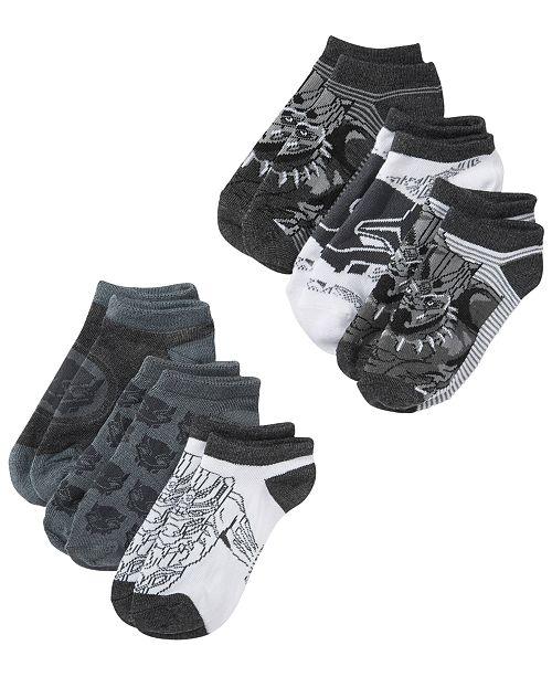 b431844e53e Berkshire Marvel Little Boys 6-Pk. Black Panther No-Show Socks ...