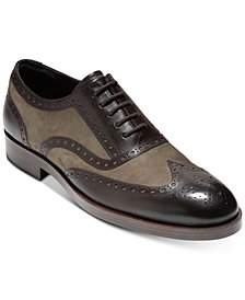 Cole Haan Men's Henry Grand Wingtip Oxfords