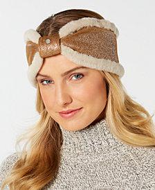 UGG® Shearling Bow Headband