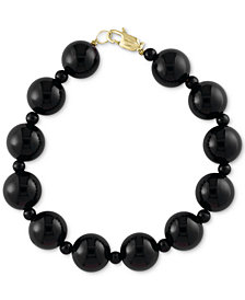 EFFY® Onyx (4 & 10mm) Bracelet