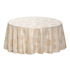"Arlee Concord 70"" Round Tablecloth"