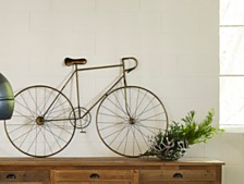 Mcmillan Bicycle Wall Art Bronze