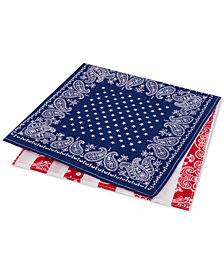 Tommy Hilfiger Men's Conversational Pocket Square