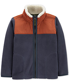 Carter's Baby Boys Zip-Up Fleece Jacket