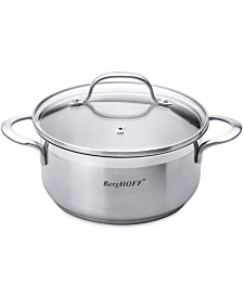 BergHoff Bistro 2.7-qt Stainless Steel Covered Casserole