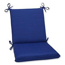 Fresco Navy Squared Corners Chair Cushion