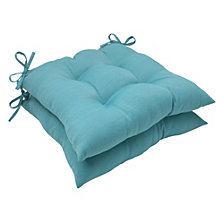 Forsyth Pool Wrought Iron Seat Cushion, Set of 2