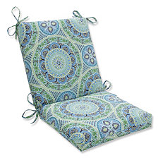 Delancey Lagoon Squared Corners Chair Cushion