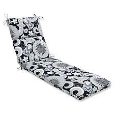 Sophia Graphite Chaise Lounge Cushion