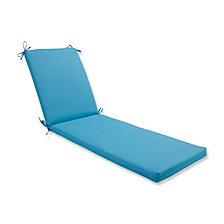 Veranda Turquoise Chaise Lounge Cushion