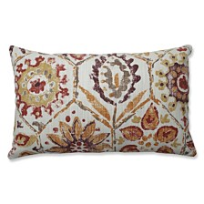Antique Stone Spice Rectangular Throw Pillow