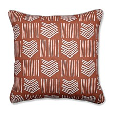 """Whythe Coral 18"""" Throw Pillow"""