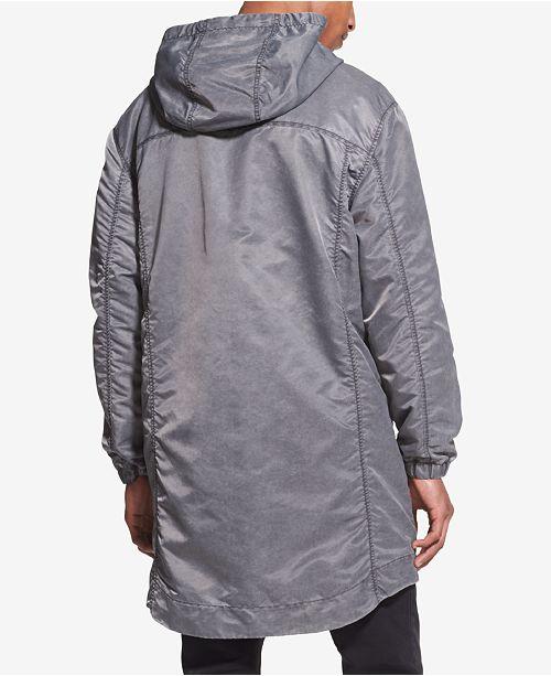 35d51914204c3 Men amp; Jackets Embroidered Dkny Coats Jacket Hooded Men's Logo 0x8cqYwTz