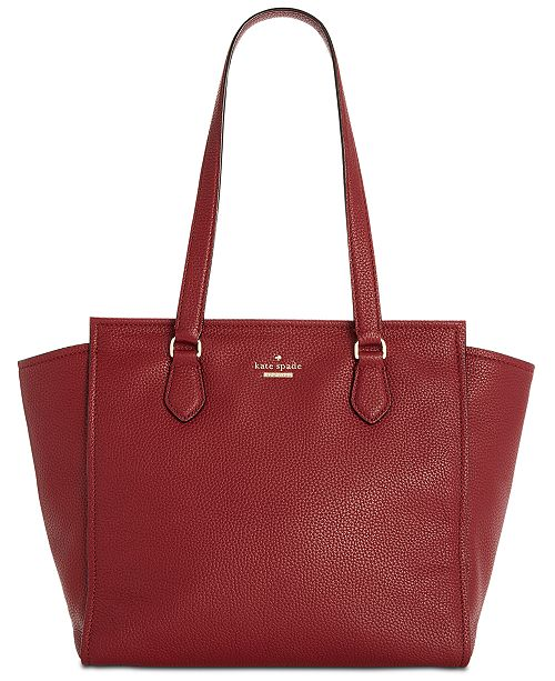 8503d823c0fe ... kate spade new york Jackson Street Hayden Small Pebble Leather Shoulder  Bag ...