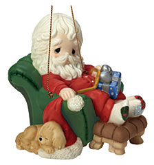 And To All A Good Night 8th in Annual Santa Series Ornament