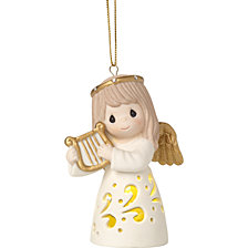Precious Moments Make Sweet Melody Lighted Ornament