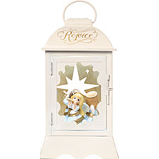 Precious Moments Angelic Lantern Lighted Musical Lantern