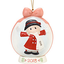 Have A Magical Holiday Season 2018 Dated Ball Ornament