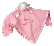Pink Lamb Plush Blanket