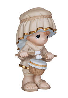 Come Let Us Adore Him - Little Drummer Boy Figurine