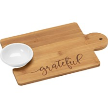Bountiful Blessings by Grateful Puzzle Piece Cutting Board