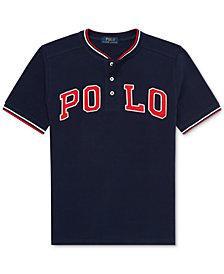 Polo Ralph Lauren Big Boys Cotton Mesh Henley T-Shirt