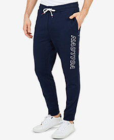 Nautica Men's Big & Tall Logo Joggers
