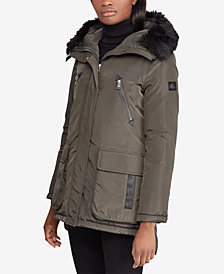 Lauren Ralph Lauren Faux-Fur Hooded Parka