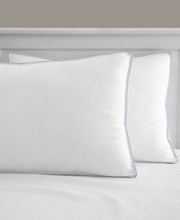 SensorGel - Cool Fusion Firm Density Pillow With Cooling Gel Beads - 2 Pack
