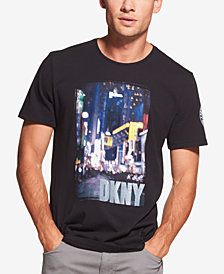 DKNY Men's Cityscape Logo Graphic T-Shirt